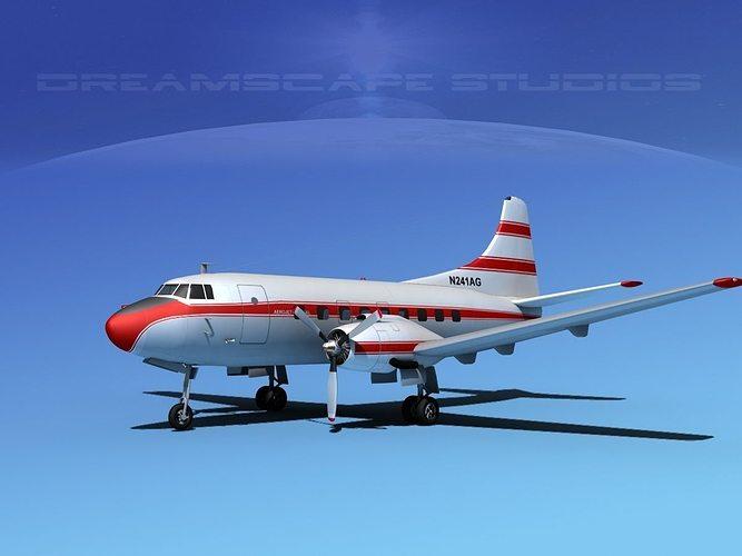 martin 202 aerojet general 3d model max obj mtl 3ds lwo lw lws dxf stl 1