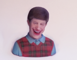 3d printable model bad luck brian
