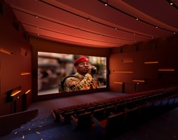 fully carpeted grand theatre 3d
