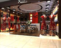 XIAO Clothing Store 3D