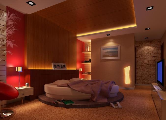 Bedroom Interior Scene For 3ds Max