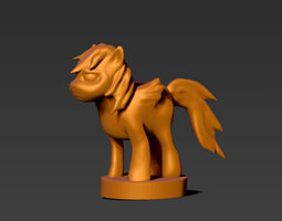 3D print model Little Pony Meme