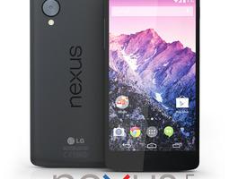 lg google nexus 5 3d model max obj 3ds fbx