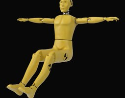 Crash Test Dummy 3D