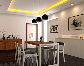 Dining AREA 3D model
