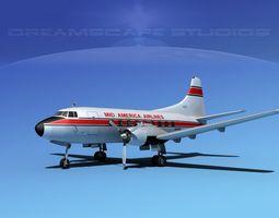 3D model Martin 202 Mid America Regional