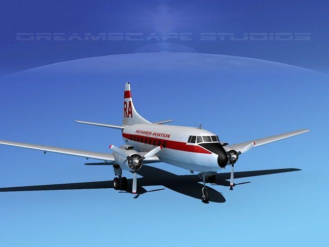 martin 202 richards aviation 3d model max obj mtl 3ds lwo lw lws dxf stl 1