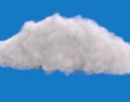 realistic cloud 3d