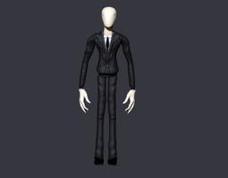 slender man 3d print model