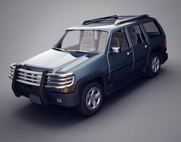 Generic SUV 3D Model