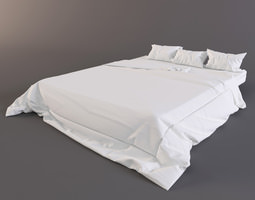 Bed mattress 3D Model