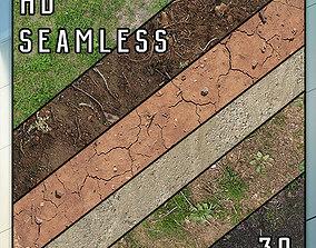 3D model Ground Grass 30 Textures HD