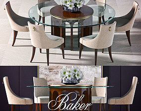 Dinning table Baker dinning table 3D