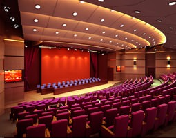 Grand Conference Hall 3D