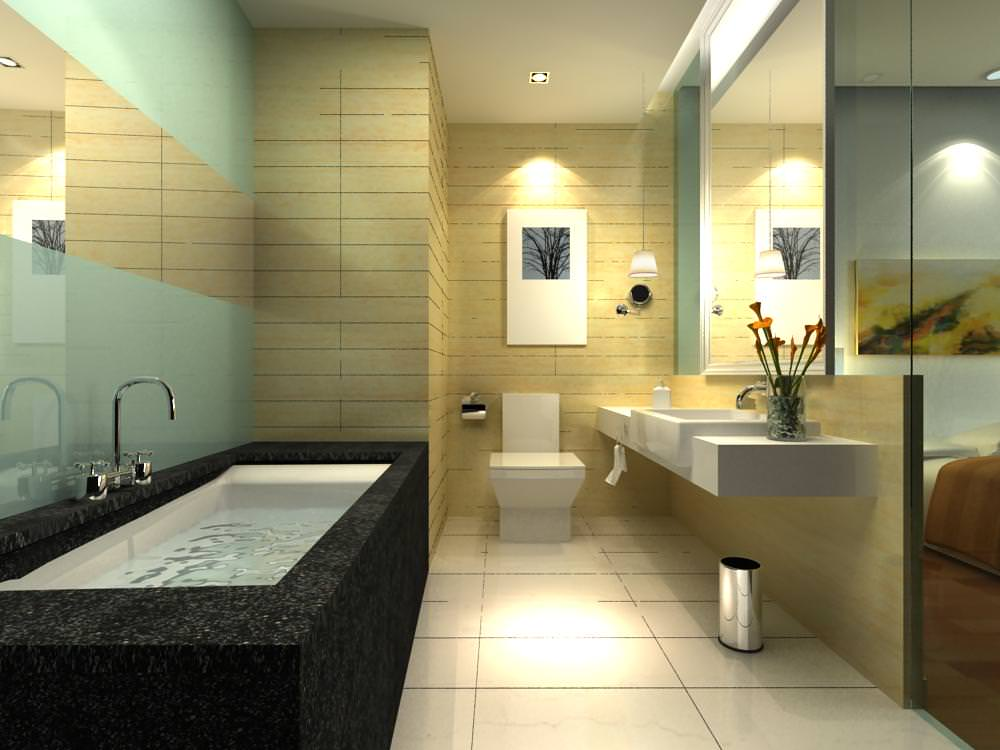 Bathroom 3d Model exquisite guest bathroom 3d | cgtrader
