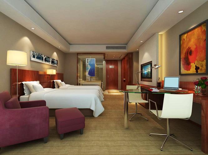 Exclusive Guest Room 3d Model Max