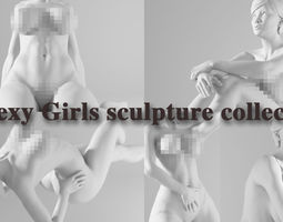 Sculpture Model Collection Two posture