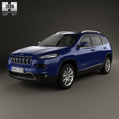 Jeep Grand Cherokee Limited 2014: Jeep Cherokee Limited 2014 3D Model