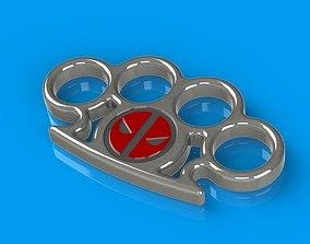 Deadpool Knuckle 3D print model
