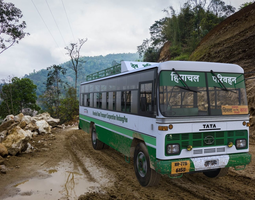 3D Indian TATA 1612 Bus - Participant of CGTrader