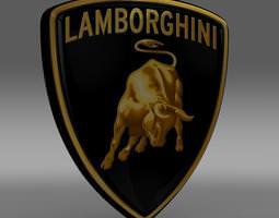 Lamborghini Logo 3D model