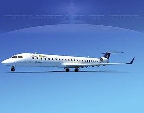 Bombardier CRJ900 Air One 3D