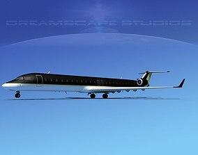 Bombardier CRJ900 Corporate 2 3D model