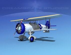 3D Curtiss F-11-C2 Goshawk V03