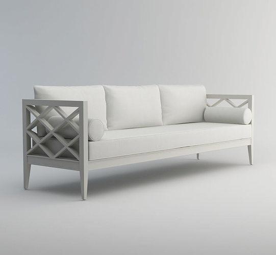 pavilion vi sofa 3d model 3d model max 1