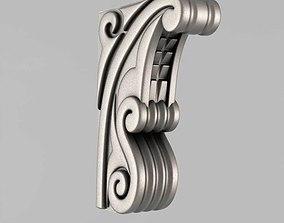 3D print model interior Corbels