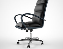 Treserra Casablanca desk chair 3D model