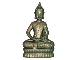 buddha51 3d asset game-ready 3d printable model