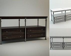 3D model Patrons Console Stanley Furniture
