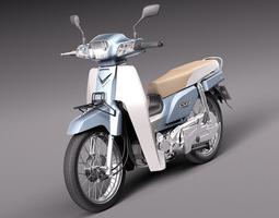 Honda Super Cub 2013 3D Model