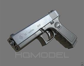 Glock 19 Generic Pistol PBR 3D model