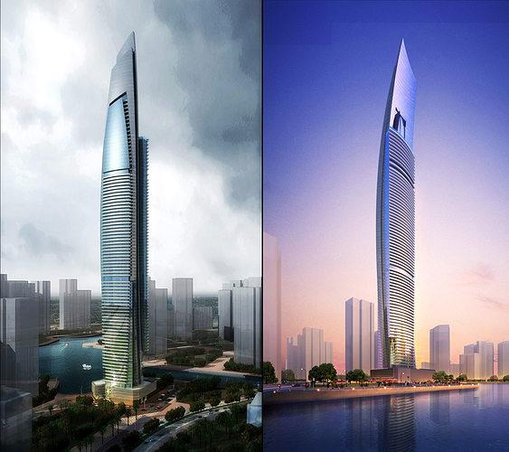 3d building 294 3d model max 1