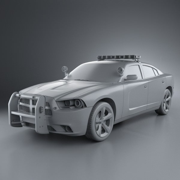 3d model dodge charger police 2011 cgtrader dodge charger police 2011 3d model max obj 3ds fbx c4d lwo lw lws 6 malvernweather Choice Image