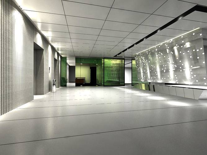 Luxurious Corridor Space For Offices on Contemporary Office Desk Furniture