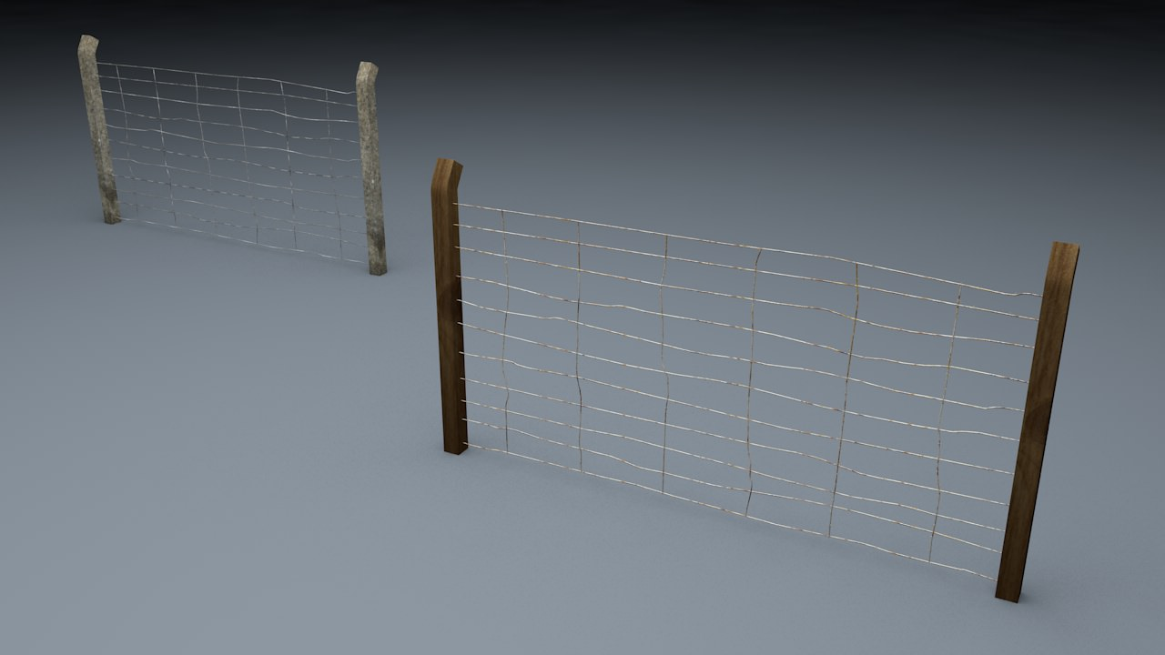 Berlin Wall Old Fence Element | 3D model
