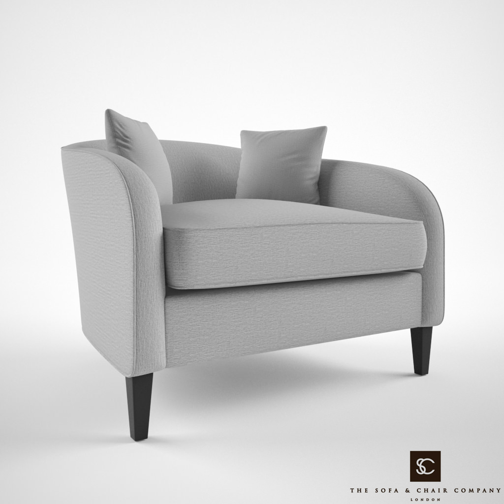 The Sofa And Chair Company Richmond Armchair 3d Model Max Obj Fbx 1 ...