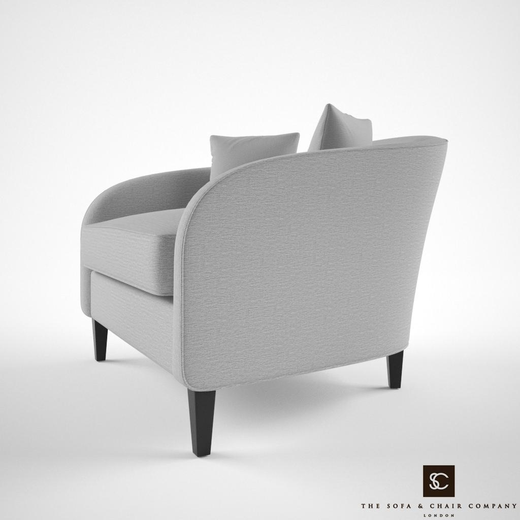 Bon ... The Sofa And Chair Company Richmond Armchair 3d Model Max Obj Mtl Fbx 3  ...