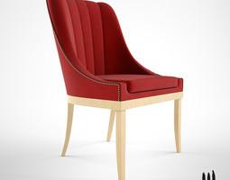 brabbu kayapo dining chair 3d model