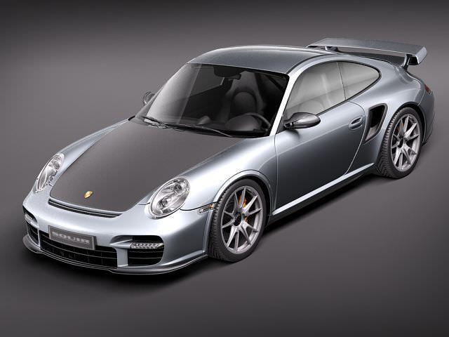 porsche 911 gt2 rs 2011 3d model max obj mtl 3ds fbx c4d lwo lw lws 1