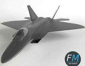 F22 Raptor 3D model