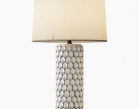 CALLA LILY TABLE LAMP 3D model