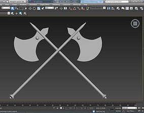 Axe of Executions 3D asset