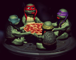TMNT New Movie Launch 3D printable model