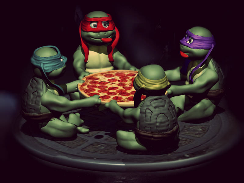 TMNT New Movie Launch 3D printable model | CGTrader