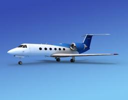 3D model Grumman Gulfstream IV V16
