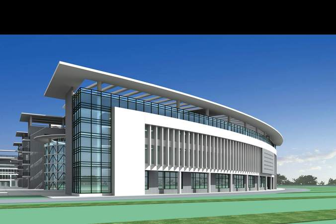 3d model exclusive building for commercial use cgtrader 3d architecture design